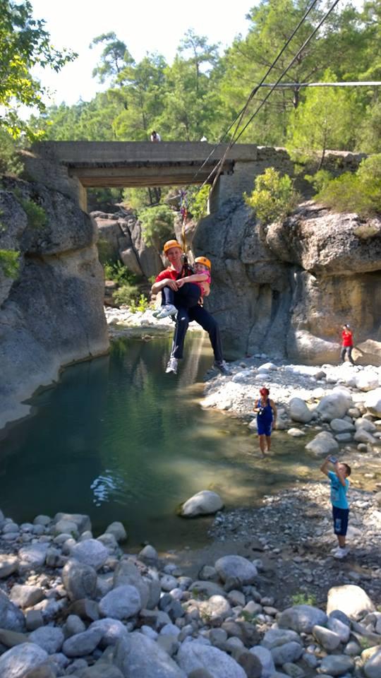 Köprülü Kanyon\'da Kurtarma Tatbikatı