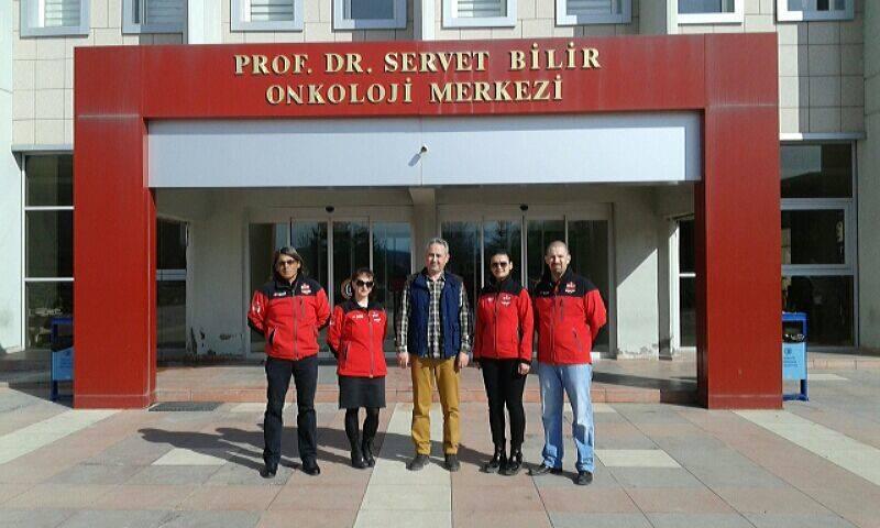 Prof.Dr. Servet Bilir Onkoloji Merkezi Ziyareti.