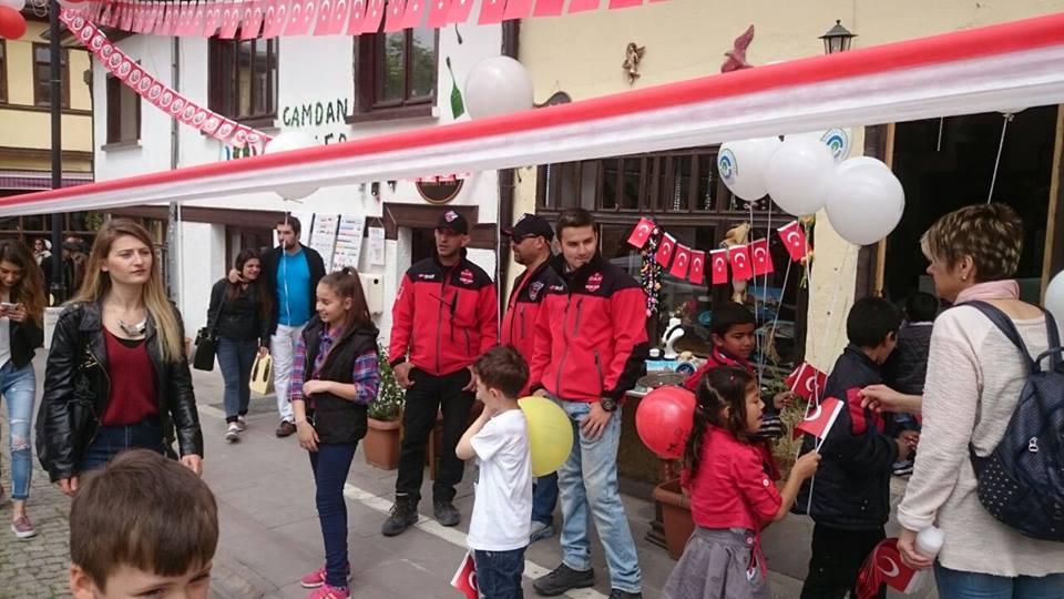 23 Nisan Ulusal Egemenlik ve Çocuk Bayramı.